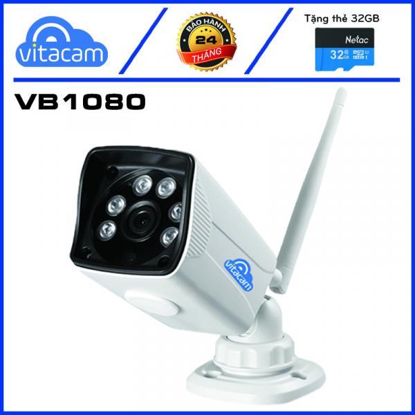 Vitacam VB1080 – Camera IP Ngoài Trời 2.0Mpx 1080P FULL HD – Hỗ Trợ Thẻ Nhớ Ngoài Dễ Dàng.