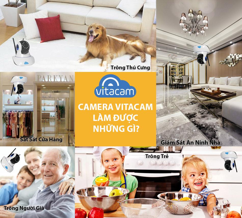 Những tiện ích của Camera Vitacam
