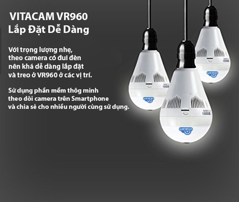 Camera bóng đèn Vitacam VR960
